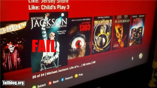 creepy failboat g rated michael jackson netflix suggested - 4812898816