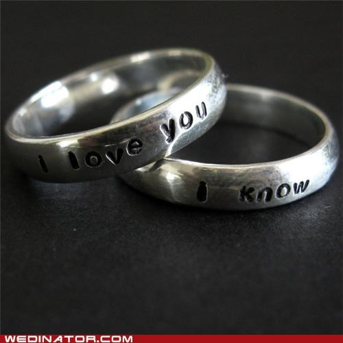 engagement rings funny wedding photos Hall of Fame star wars