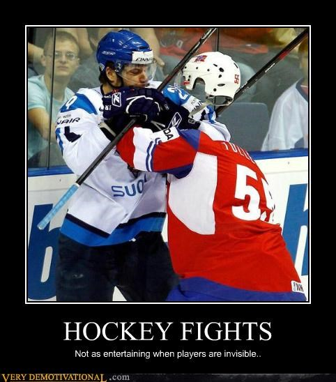 fight,hilarious,hockey,invisible