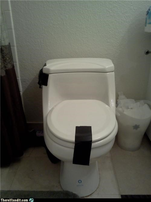 bathroom holding it down plumbing poll Professional At Work quick fix tape toilet - 4814122496
