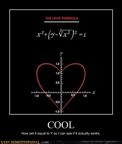 cool formula graph hilarious love - 4814270208