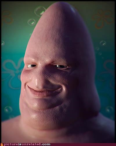 Patrick Star in real life