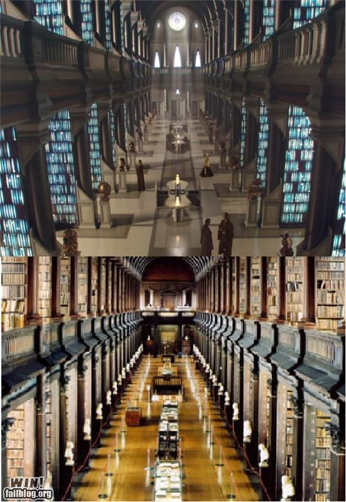 Star Wars Archives = Trinity Long Room