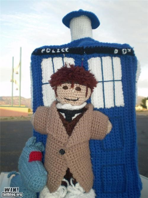 doctor who Knitta Please knitting nerdgasm
