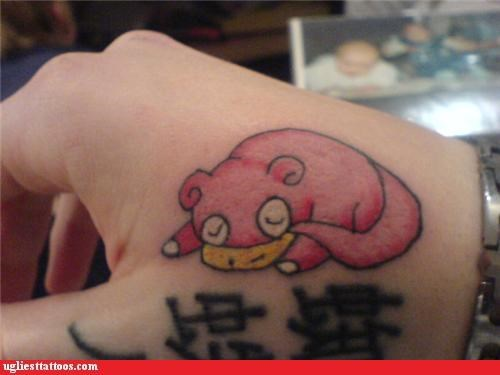Pokémon tattoos slowpoke funny - 4815672064