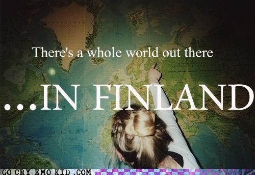Finland hipsterlulz map Travel world wtf - 4815739392