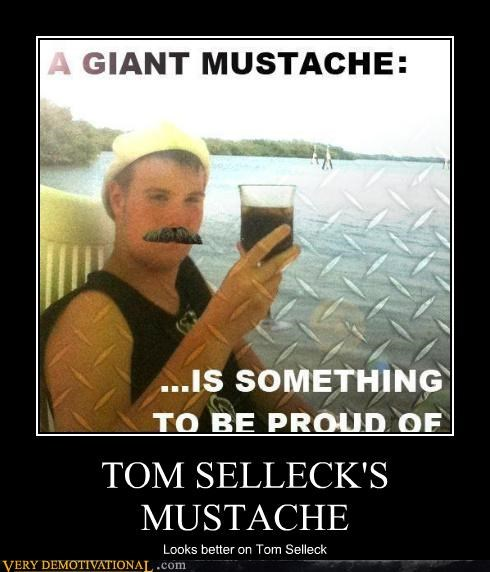 hilarious mustache tom selleck - 4815892736