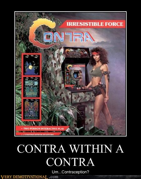arcade contra Inception Pure Awesome video games - 4816701184