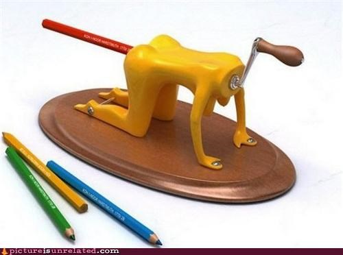 booty eww pencil sharpener wtf - 4817056256