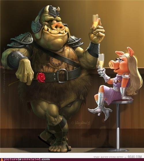 art jabbas-guard miss piggy star wars wtf - 4817070848