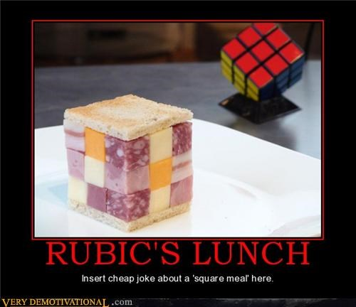 cheese,hilarious,lunch,meats,rubicks-cube