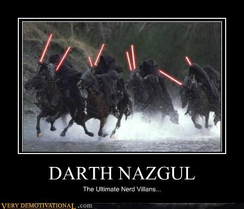 darth hilarious Lord of the Rings Nazgul star wars - 4817507328