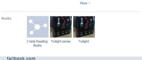 reading i don't read books twilight - 4817713664