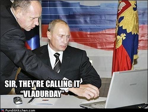 political pictures Vladimir Putin vladurday - 4818008832