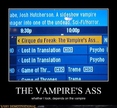 booty cable hilarious TV vampire - 4818268672