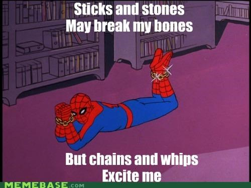 chains,rihanna,so excited,Songs,Spider-Man,whips