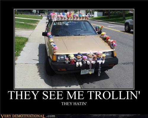 car hating hilarious rollin trolling - 4818964736