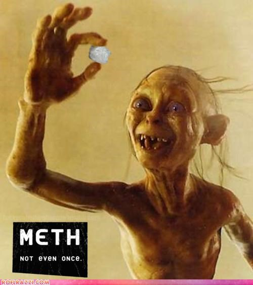 drugs funny-gollum Hall of Fame Lord of the Rings sci fi shoop - 4819110400