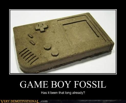 fossil game boy hilarious old - 4819242752