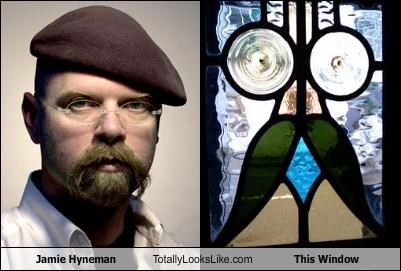 jamie hyneman,mythbusters,window