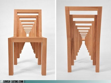 chair Inception wood