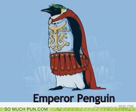 double meaning emperor emperor penguin Hall of Fame literalism penguin - 4819735040
