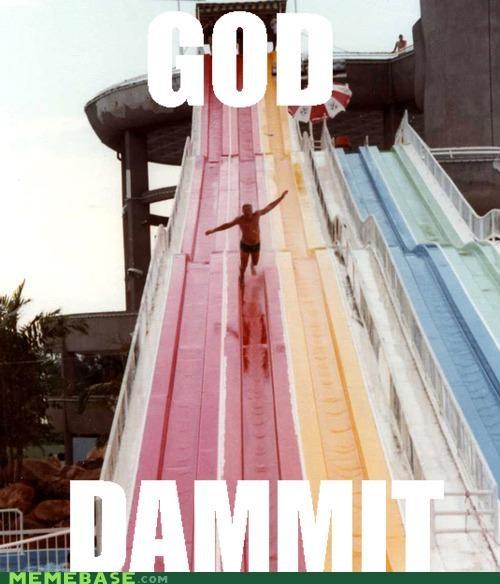 aw man,Memes,nyancat,rainbow,slide