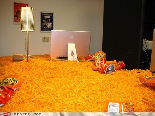 cheetos infestation