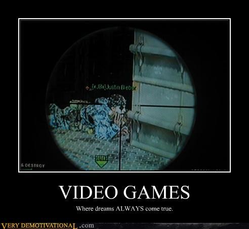 come true dreams hilarious video games - 4820246784