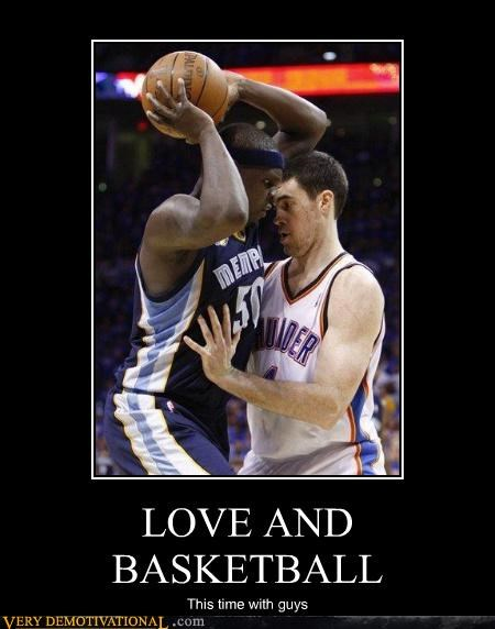 LOVE AND BASKETBALL This time with guys