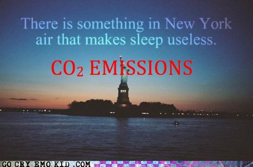 Chemistry CO2 emissions hipsterlulz new york