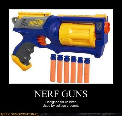 college kids nerf guns Pure Awesome toys - 4820791040