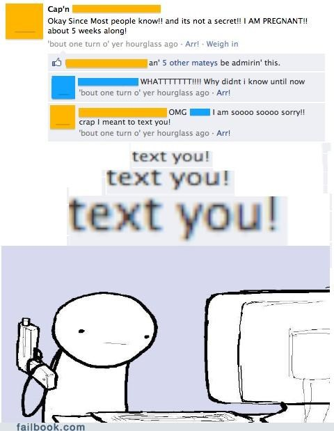 pregnancy,Awkward,texting