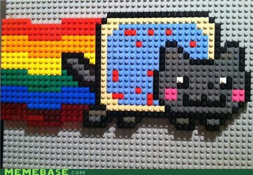 IRL,lego,Nyan Cat,poptart