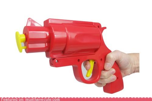 condiments dispenser gun ketchup mustard