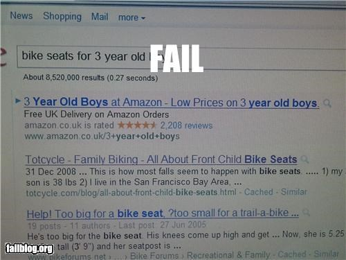amazon failboat google innuendo internet pedobear screenshot - 4821439488