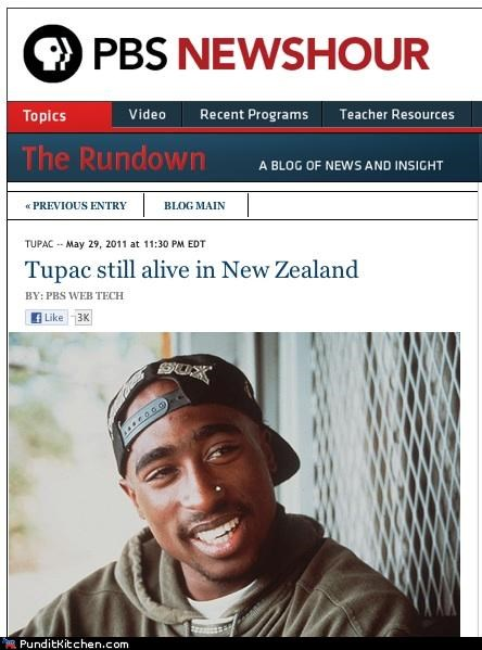 hacks news PBS political pictures tupac