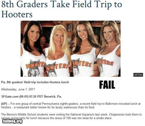 failboat hooters inappropriate kids middle school Probably bad News school - 4822230528