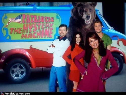 jon stewart political pictures Sarah Palin scooby doo - 4822256640