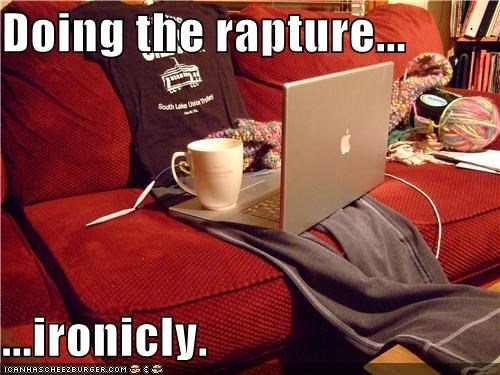 hipsterlulz,irony,macbook,RAPTURE