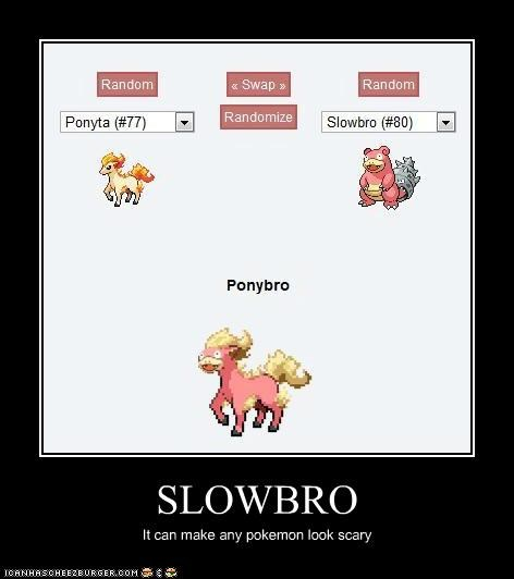 SLOWBRO It can make any pokemon look scary