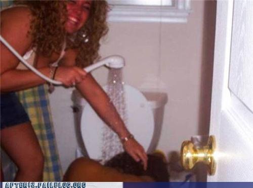 bathroom shower vomit - 4822612736