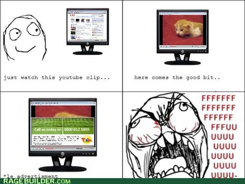 advertisements Rage Comics videos youtube