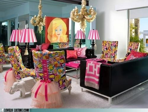Barbie,decor