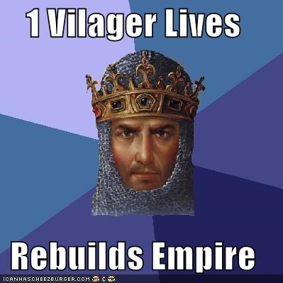 age of empires builds empire Memes video games villager - 4822699008
