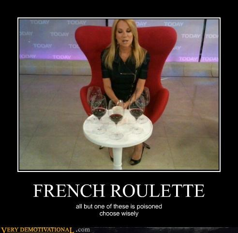 french roulette hilarious poison wine