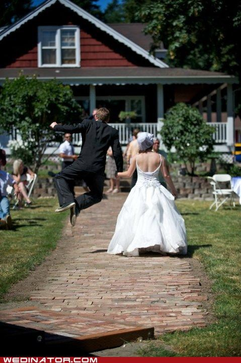 funny wedding photos Hall of Fame heel click jumping groom - 4822879232