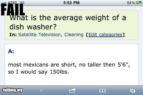How much does a dishwasher weigh?