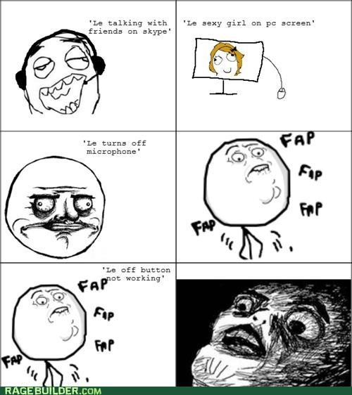 Awkward,faptimes,Rage Comics,skype