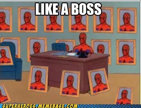 boss pictures Random Heroics Spider-Man Super-Lols wtf - 4822976768
